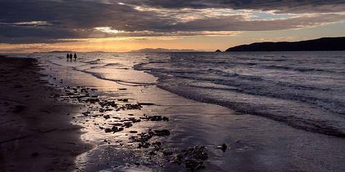 3people 3persons beach coastallandscape coastline evening kapiticoast kapitiisland landscape nature newzealand northisland paraparaumu paraparaumubeach sand sea seascape strolling sunset unwinding walking waves wellington nz
