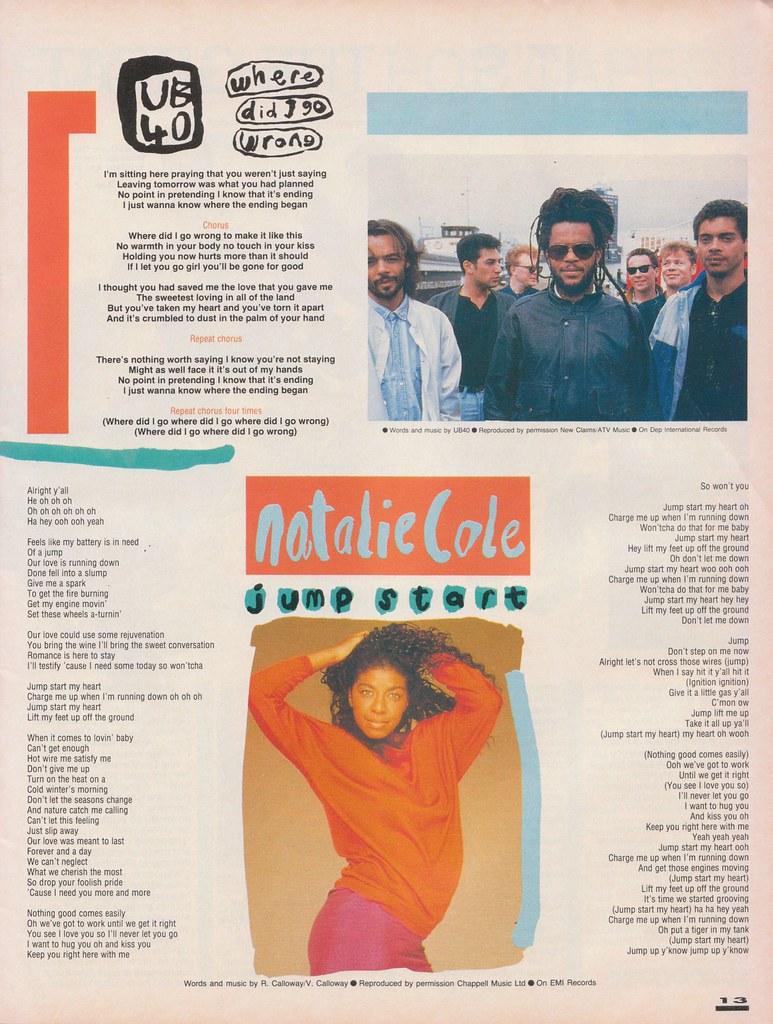 Smash Hits, September 7, 1988 – p 13 | Like Punk Never Happe