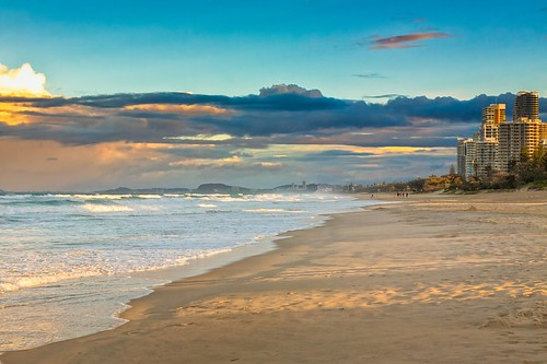 500px waves australia copy space gold coast pacific queensland tranquil scene buildings clouds evening nature ocean oceania people sand sea shadows sky sunset travel destinations water teamcanon