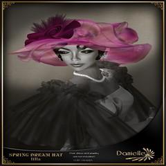 Danielle spring dream hat lilla