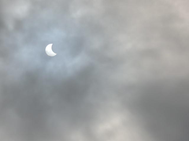 Eclipse parcial do Sol - 26/02/2017