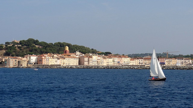 La baie de Saint-Tropez