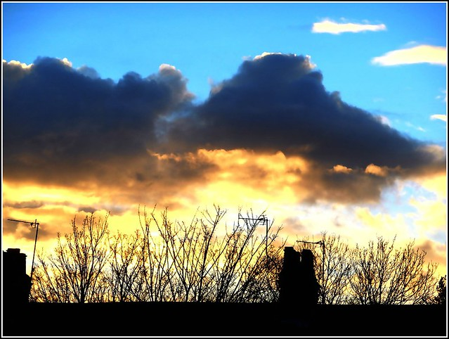 Unusual Sunset..