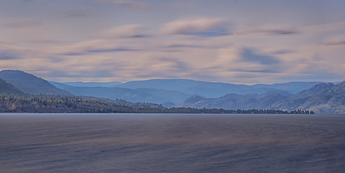 longexposure lake mountains water evening soft view okanagan pastel tripod timeexposure nikond750