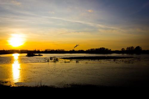 Nijmegen sunset | by David Holleman