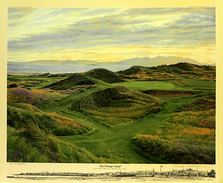 The Postage Stamp, The 8th Hole at Royal Troon Golf Club, Troon, England | by Smith Galleries