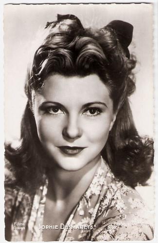 Sophie Desmarets (1922 - 2012)