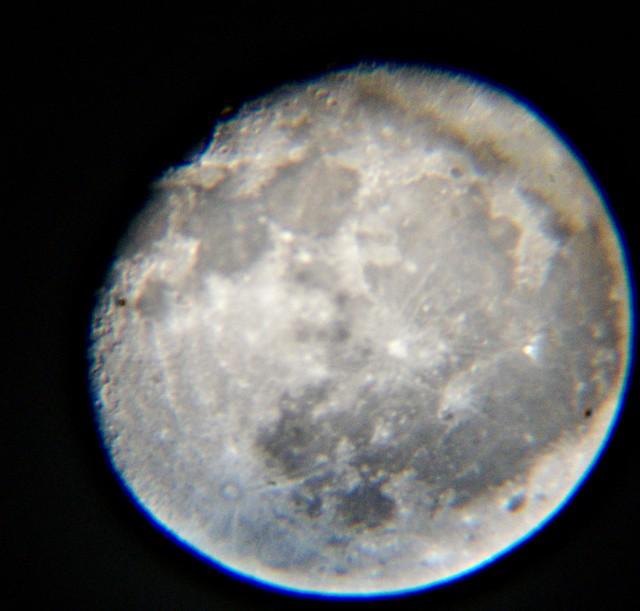 siguendo a la luna