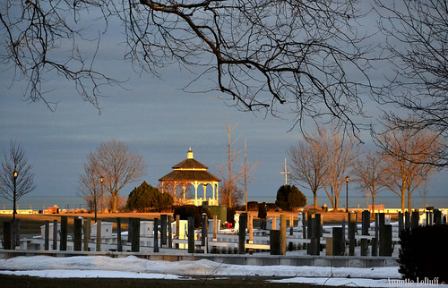 sunset lake man tree male water buildings airplane piers jet gazebo worker lakestclair favorited neffpark flickrtoday grossepointemi photoannetteleduff annetteleduff 02182012
