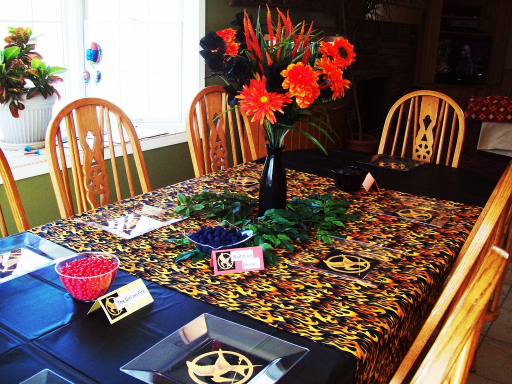 Hunger Games Party Hunger Games Party Ideas And Supplies Janet