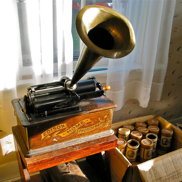 yard.sale • edison.home.phonograph