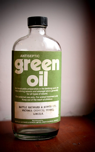 Green oil | by Helen in Wales