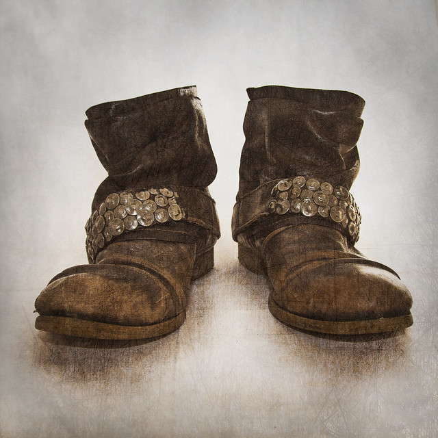 Just a pair of boots