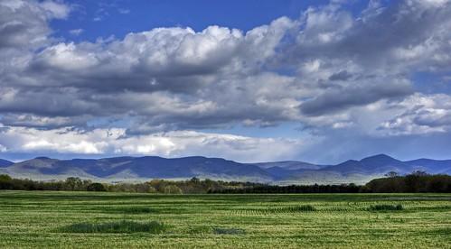 clouds landscape bluesky va shenandoahvalley blueridgemountains hdr mcgaheysville