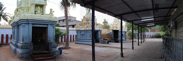 Shrines in the outer praharam