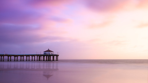california sunset landscape la unitedstates manhattanbeach