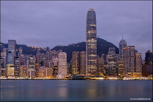 hongkong hongkongisland skyline skyscraper architecture architektur sunrise morning morgen citylights cityscape