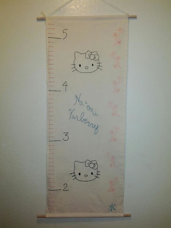 Omi's growth chart