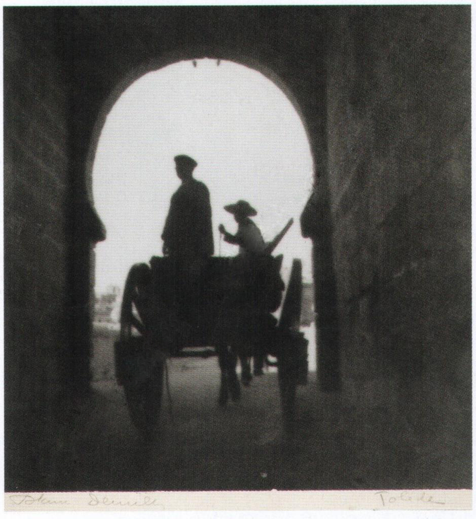 Puente de San Martín. en 1934. Fotografía de Antoine Demilly y Théo Blanc