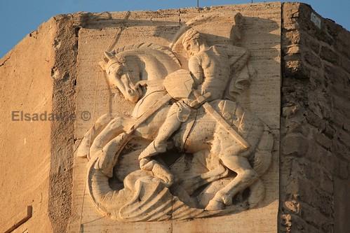 castle stgeorge libya tripoli defender redcastle martyrsquare