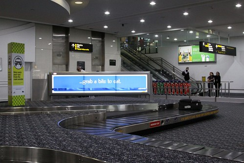 Luggage carousels at Melbourne Airport