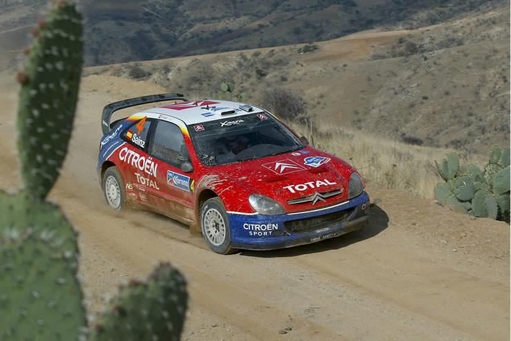 Citroën Xsara WRC – Rally Mexico 2004