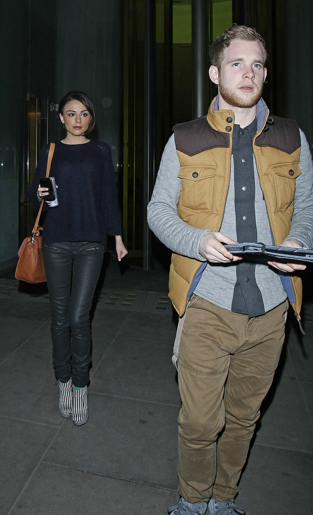 Cher Lloyd And Her Fiancé Craig Monk Leave Their Hotel And Flickr