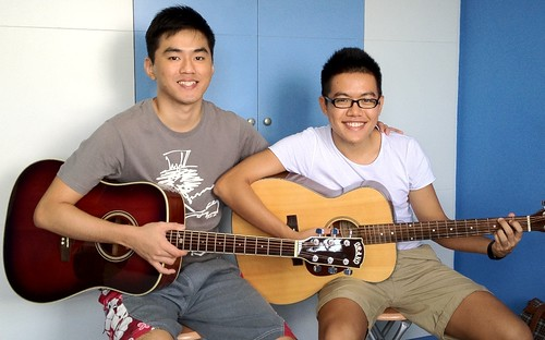 Private guitar lessons Singapore Shang Xuan