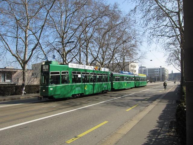 Tram Basel Switzerland 2012