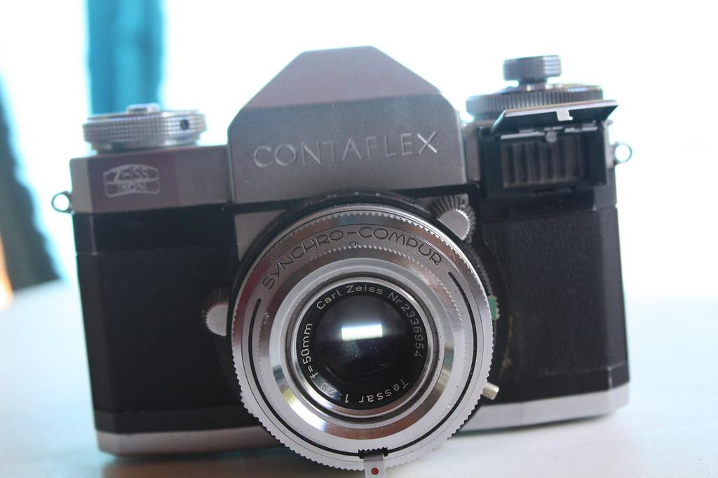Contaflex IV | Zeiss Ikon Contaflex IV  (1958 - 1962) SLR Te