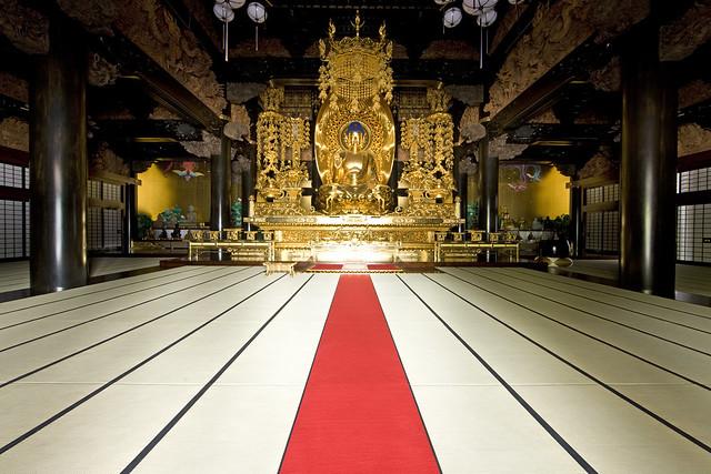 Buddhist statue 仏像 - 念佛宗(念仏宗無量寿寺) 釈迦堂 釈迦坐像013