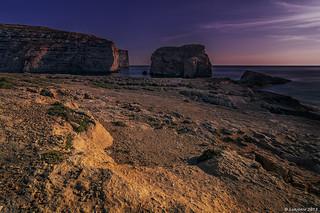 Landscape at Gozo, Malta