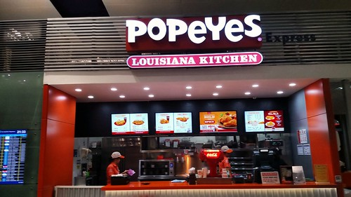 Hanoi - Noi Bai International Airport - Popeyes Chicken | by BertoUCF