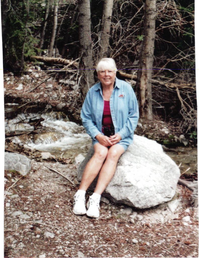 Pat near the Chalk Cliffs and Mt. Antero
