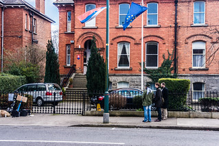 Protesting Outside The Embassy of the Slovak Republic | by infomatique