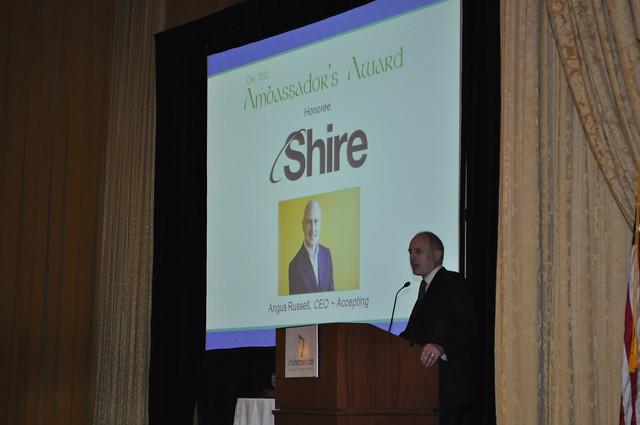 Ambassador's Awards 2012