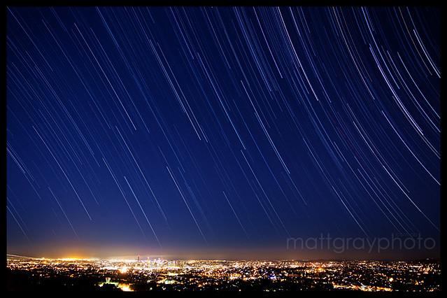 Mt Coot-Tha Star Trails