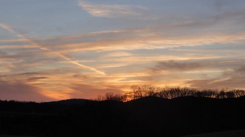 sunset virginia va interstate i81