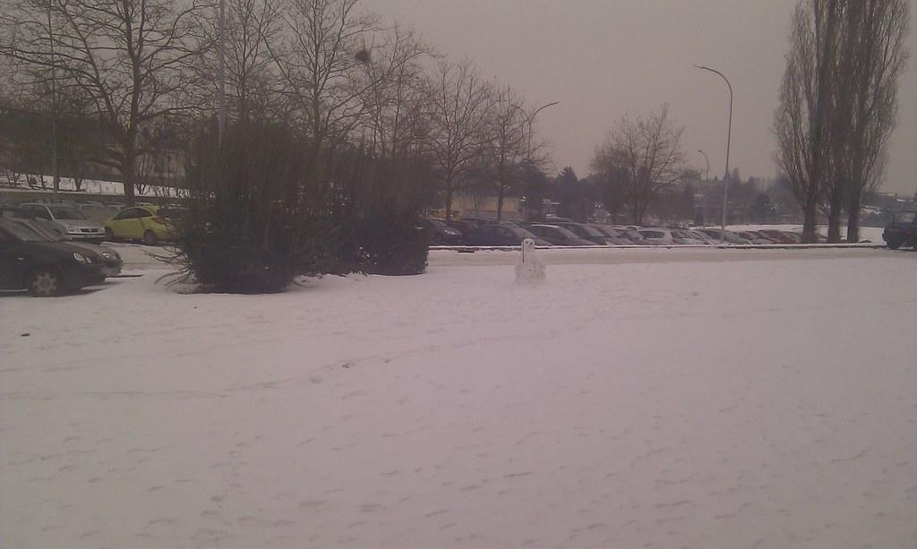 Neige à Limoges