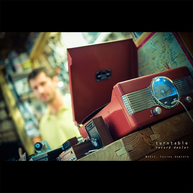 Turntable | record dealer {explored}
