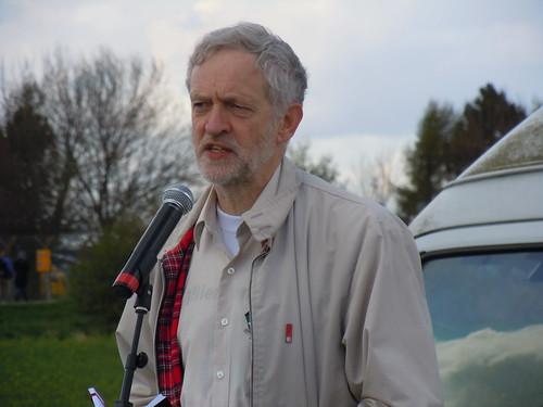 Jeremy Corbyn MP speaks at anti-drones rally, 27 April 2013 | by stopwar.org.uk