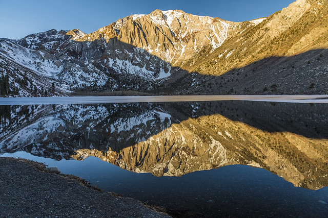 Reflection on Convict Lake