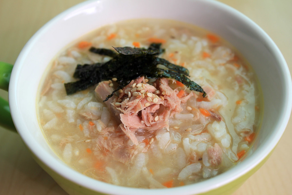 Korean rice porridge [Juk]