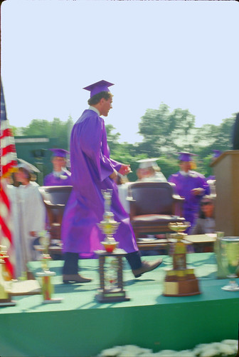 Walk across the stage