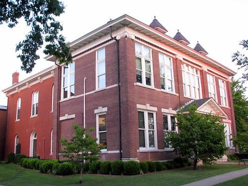 tn dusk tennessee courthouse ashlandcity countycourthouse nrhp cheathamcounty bmok bmok2 usccthcheatham