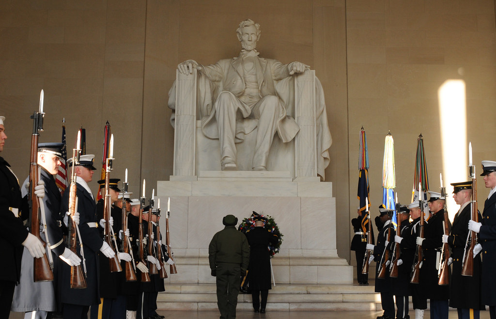 Abraham Lincoln Wreath Ceremony