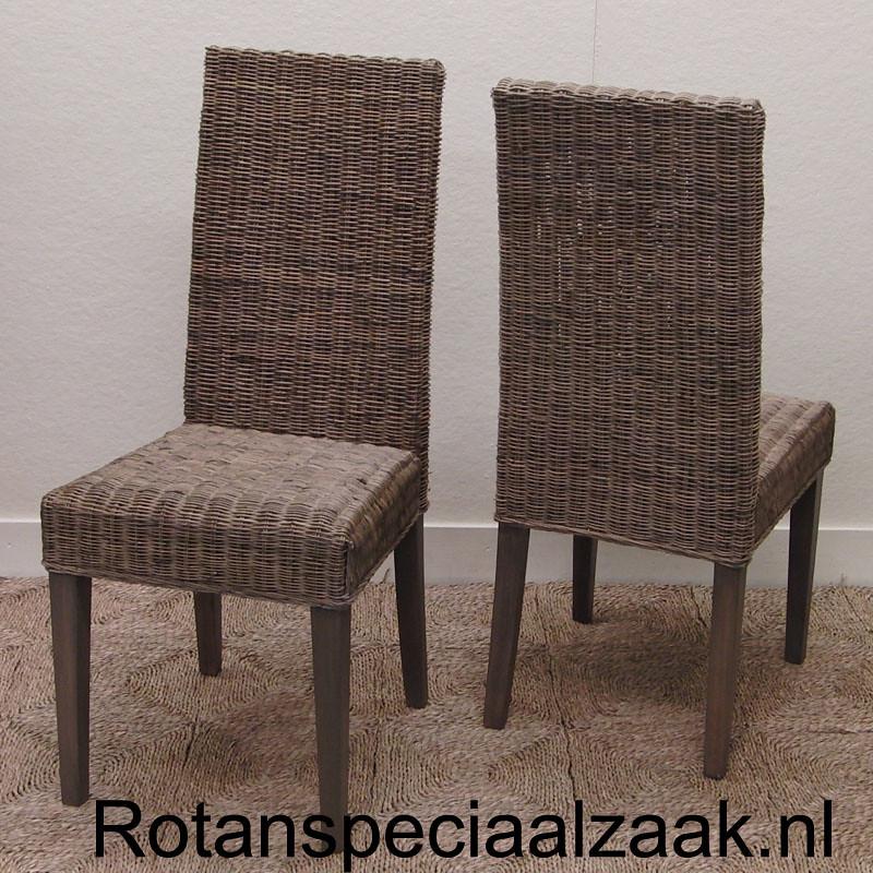 Eetkamerstoel Riet Grey.Eetkamerstoel Rotan Amsterdam Rotanspeciaalzaak Nl Rotan R