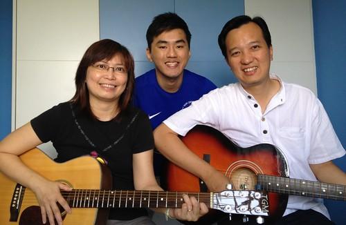 Adult guitar lessons Singapore Yoke Choo Darryl