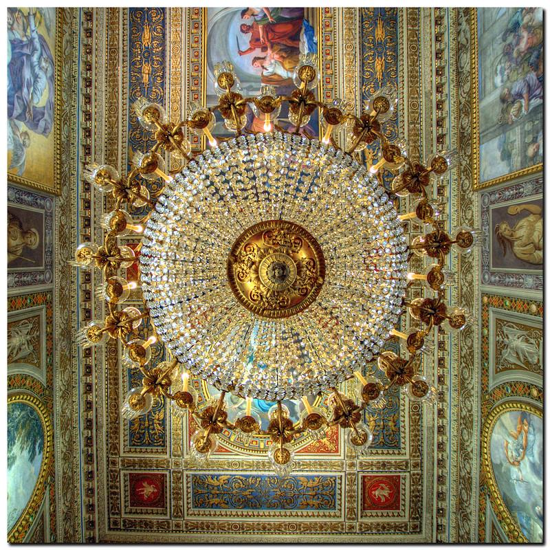 Roma-Quirinale-dettaglio di un soffitto