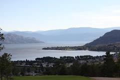 El lago y el hotel
